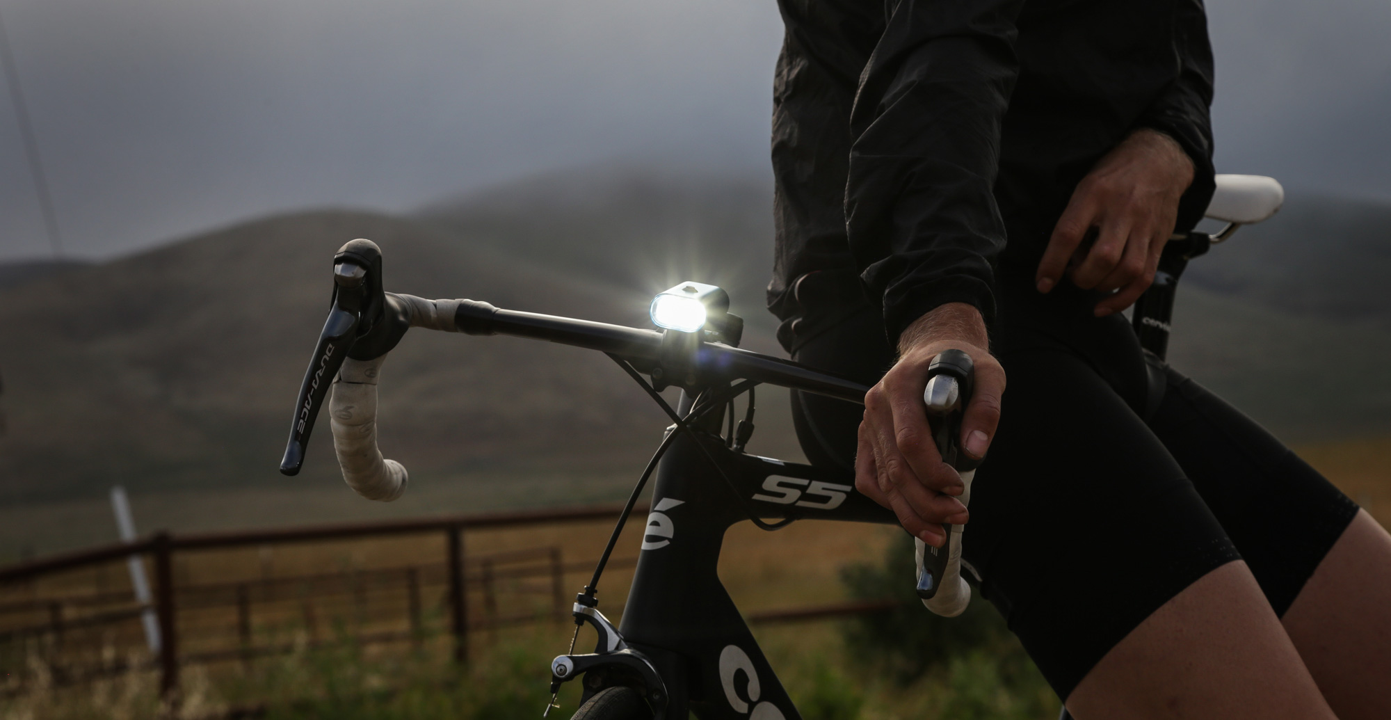 Handlebars and LED