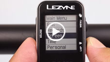 Lezyne Mini GPS: Additional Customization