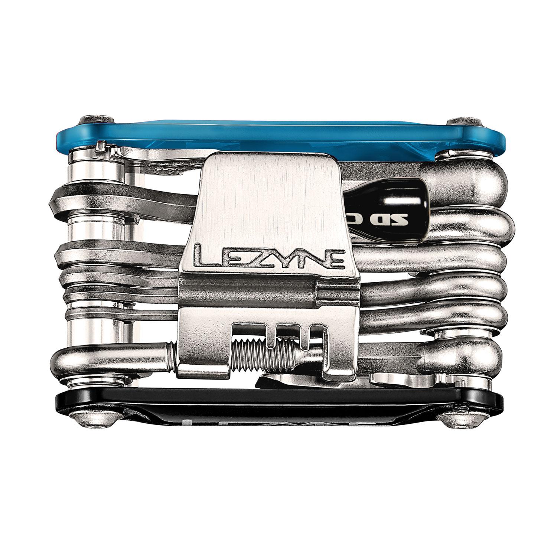 Radsport Werkzeug Lezyne Multi-Tool Rap-21 CO2 Schwarz
